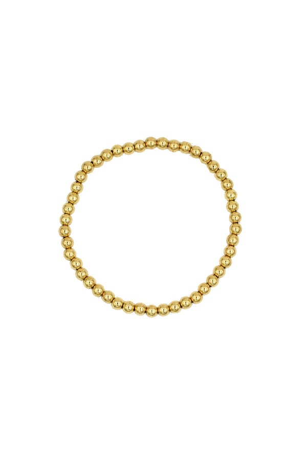 Gold Medium Bauble Bracelet