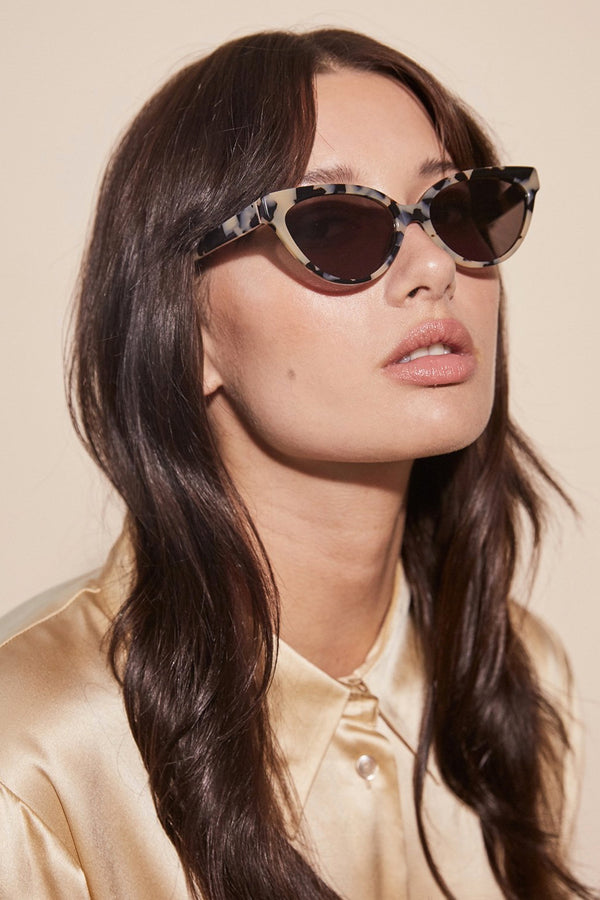 Blonde Tort Beat Generation Sunglasses