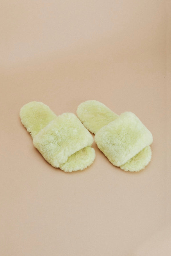 Lime Frankie Slipper