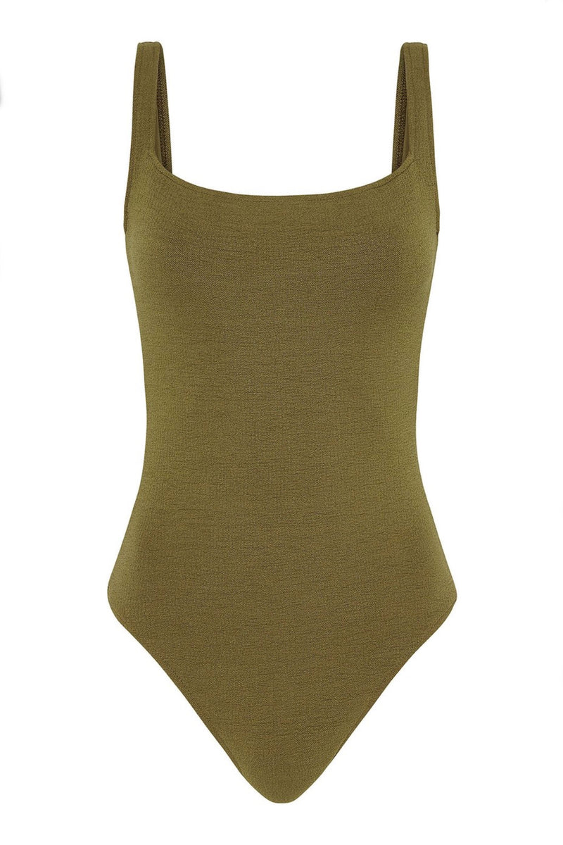 Olive Boucle Philo One Piece