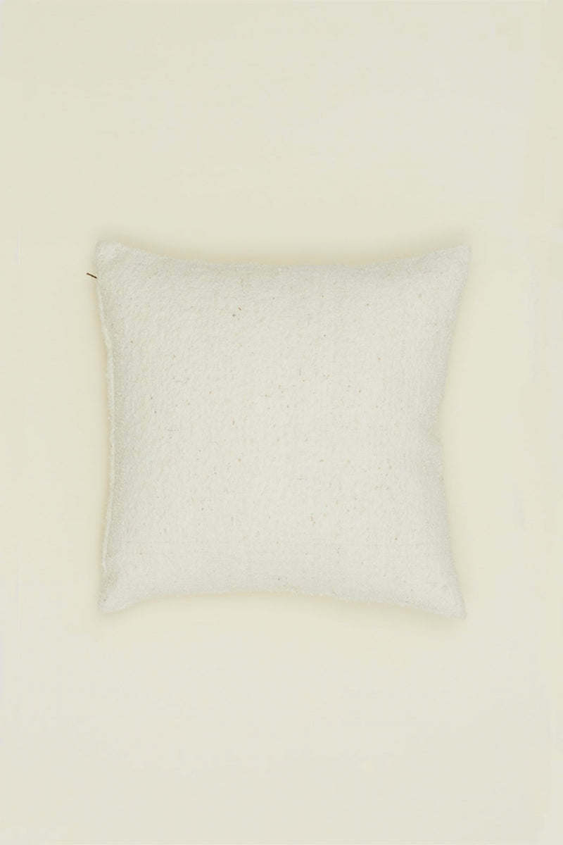 Ivory Couscous Square Pillow