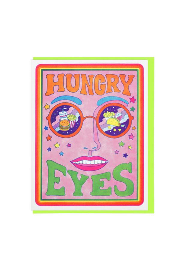 Hungry Eyes Card
