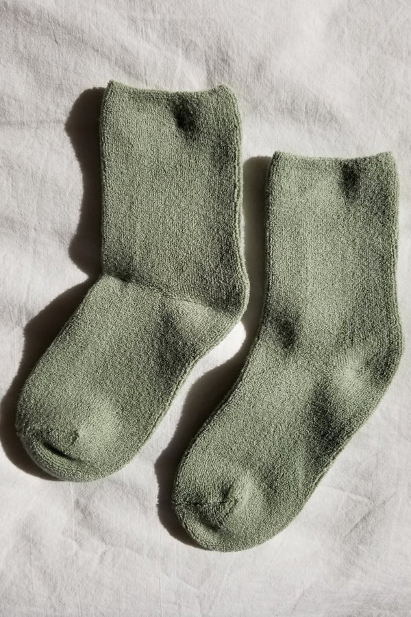 Matcha Cloud Socks