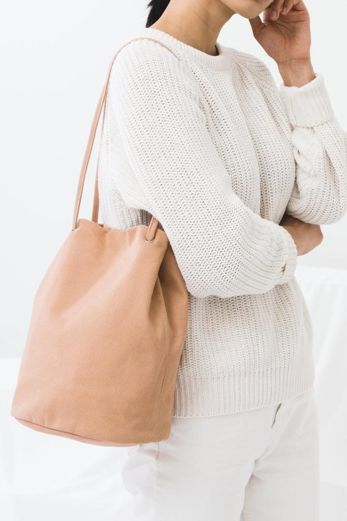 Canyon Canvas Bucket Bag