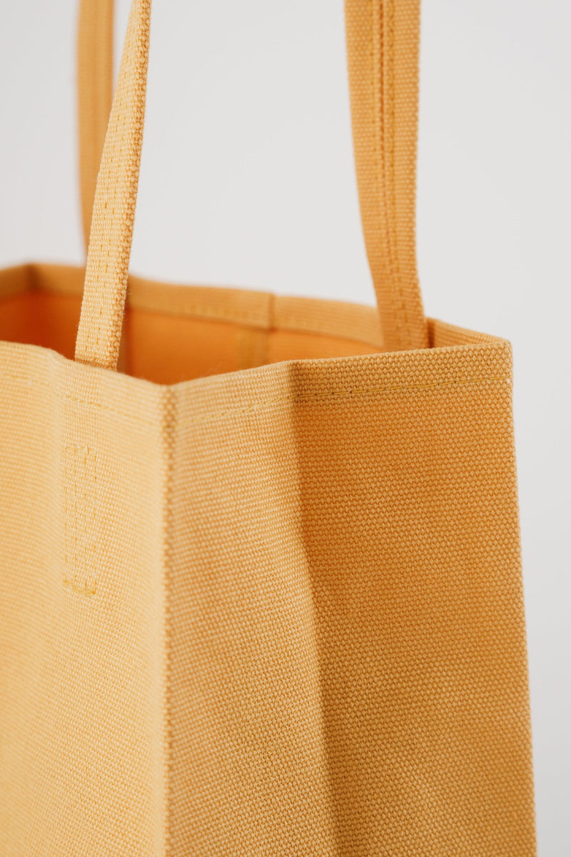 Apricot Canvas Retail Tote