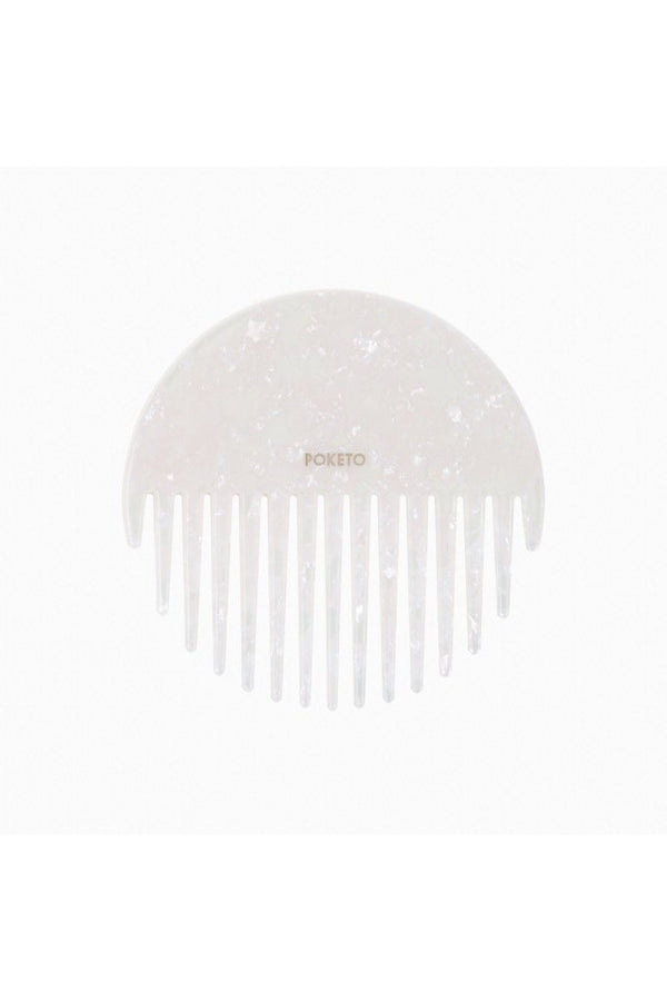Pearlescent Circle Comb