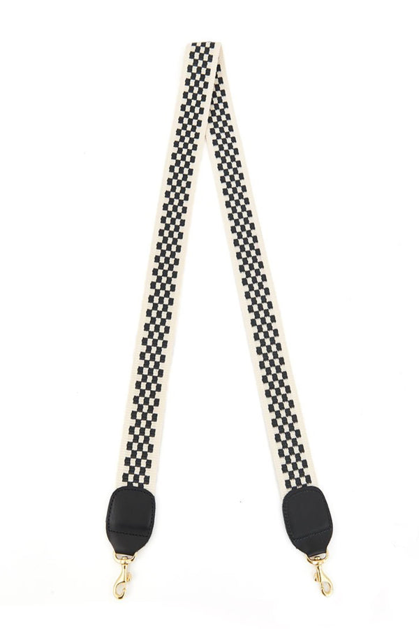 Checker Crossbody Strap