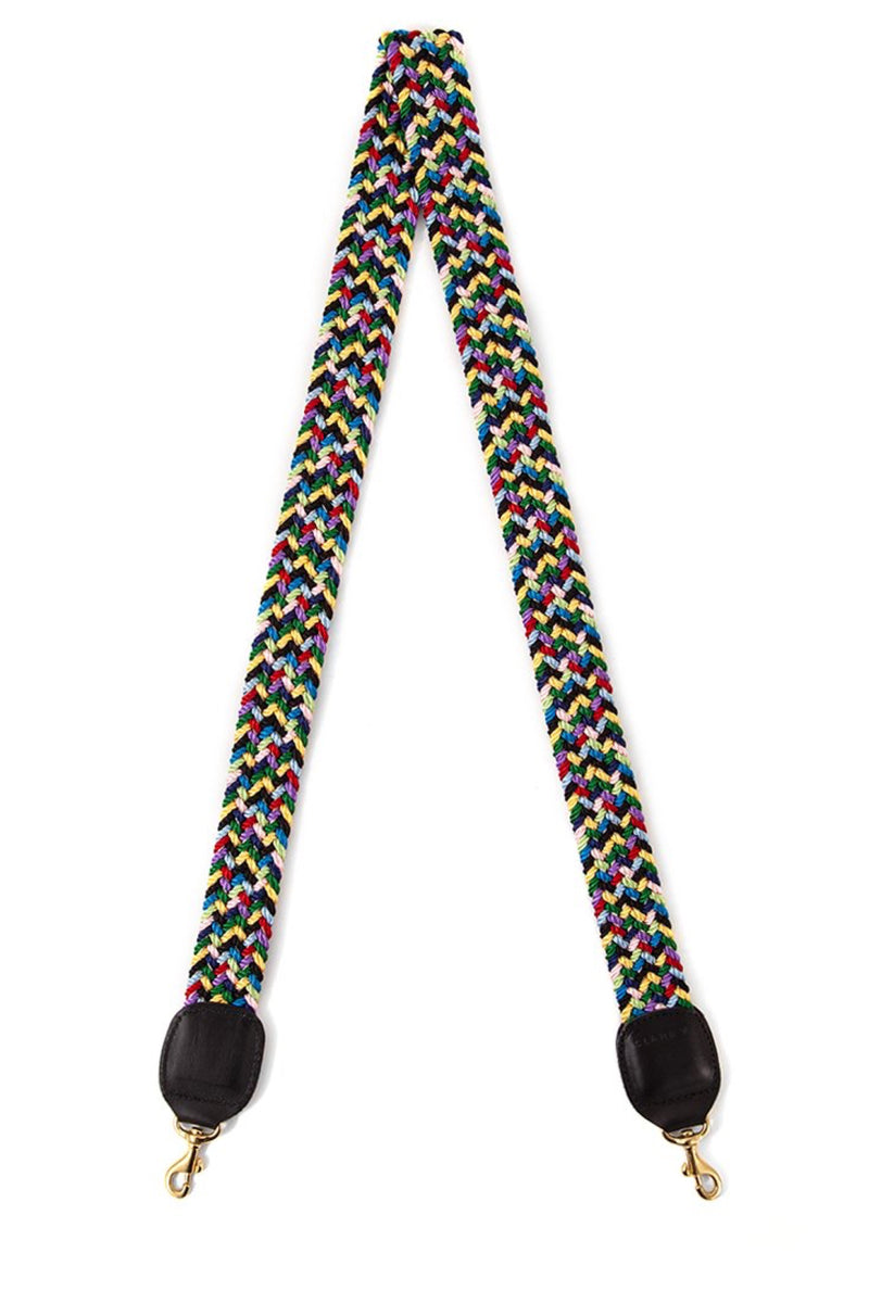 Multi Braided Crossbody Strap