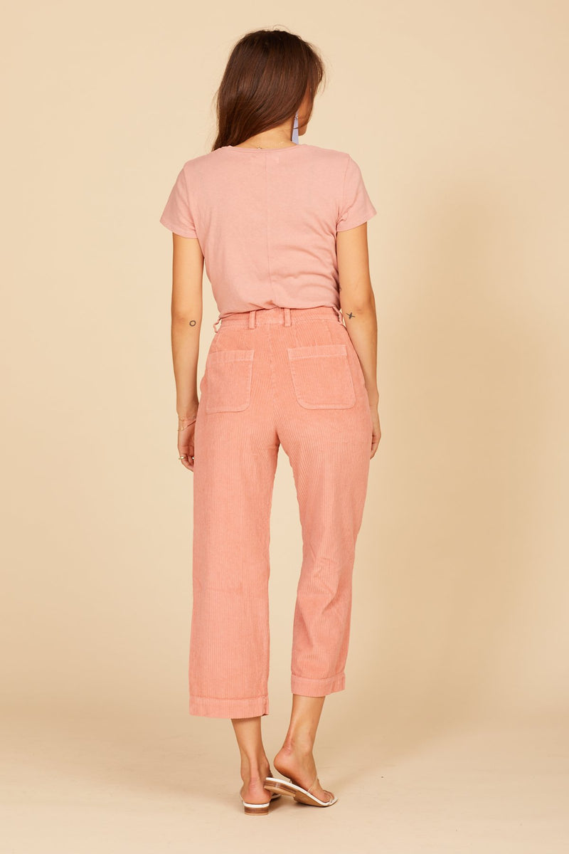 Strawberry Cord Frankie Trousers