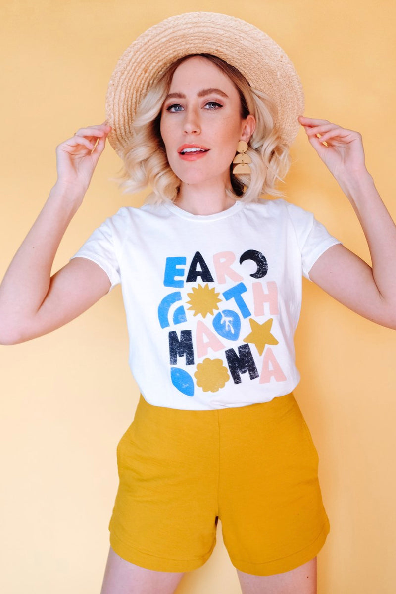 White Earth Mama Tee