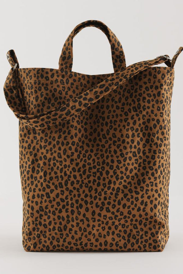 Nutmeg Leopard Duck Bag