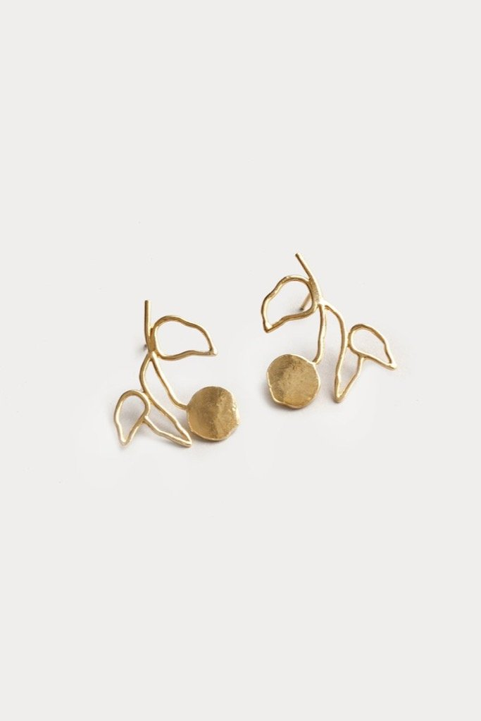 Gold Elsworth Earrings
