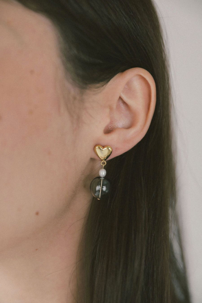 Gold Frankie Earrings