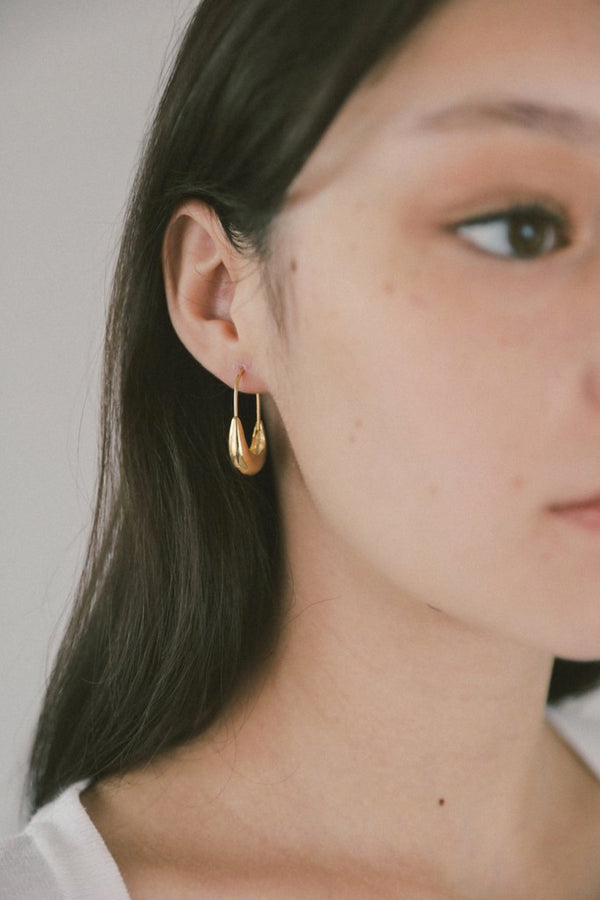 Gold Marta Hoop Earrings