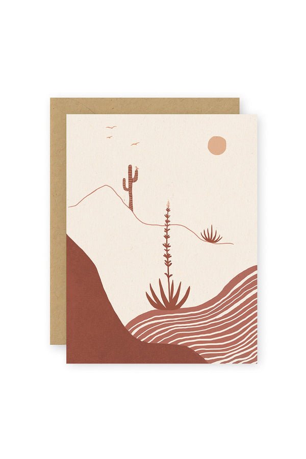 Desert Afternoon Card