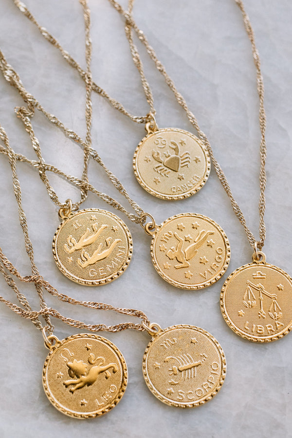 Ascending Zodiac Necklace