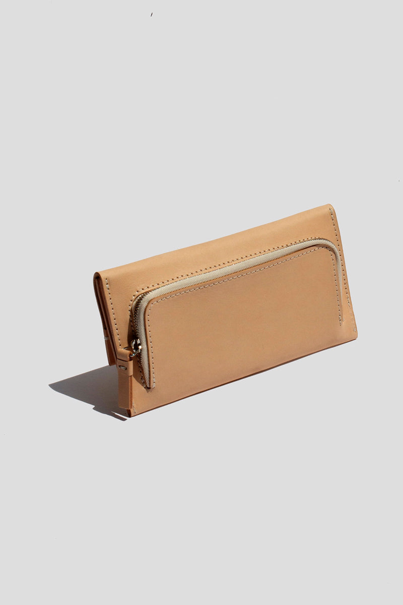 Tan Envelope Wallet