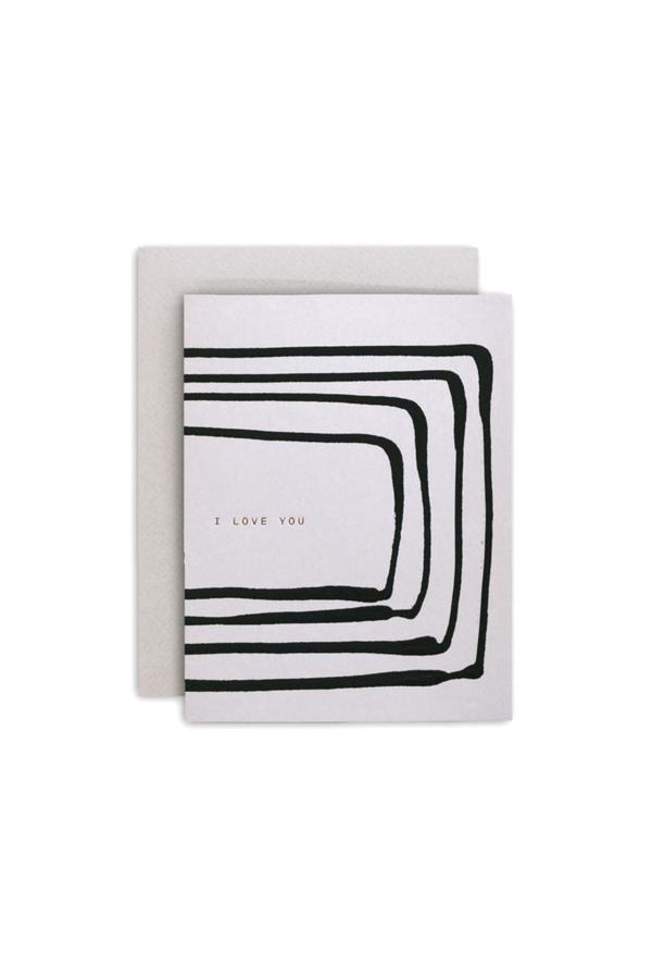 Love You Stripe Card