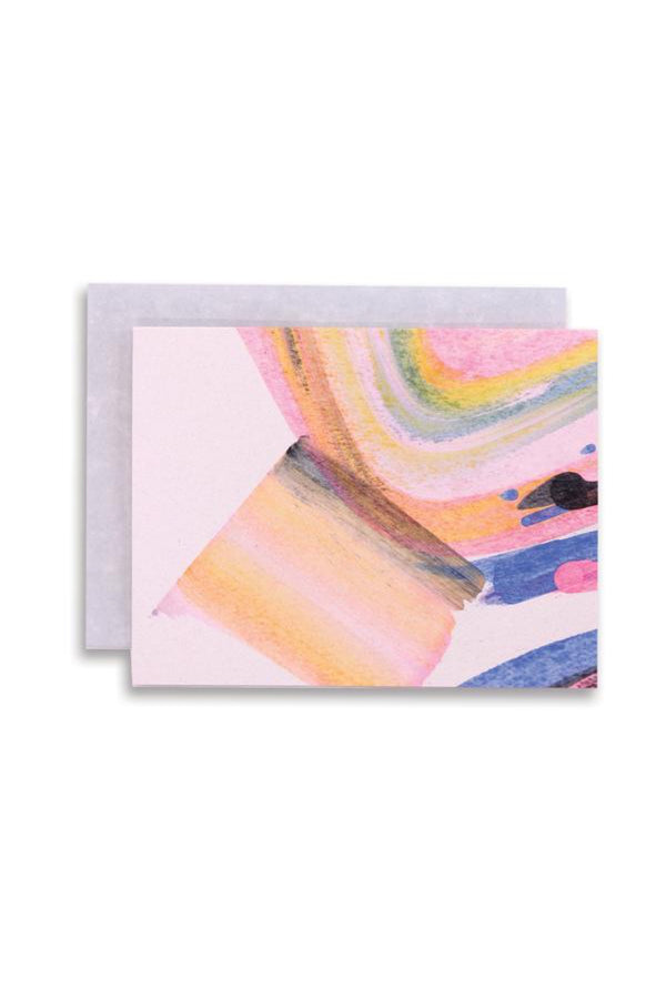 Rainbow Swirl Card Set