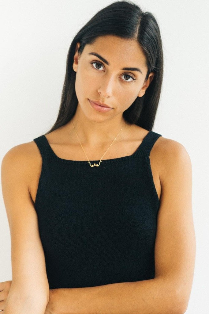 Gold Boobs Necklace