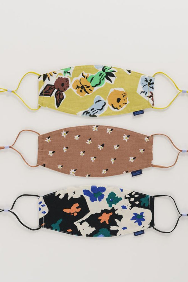 Archive Florals Loop Mask Set