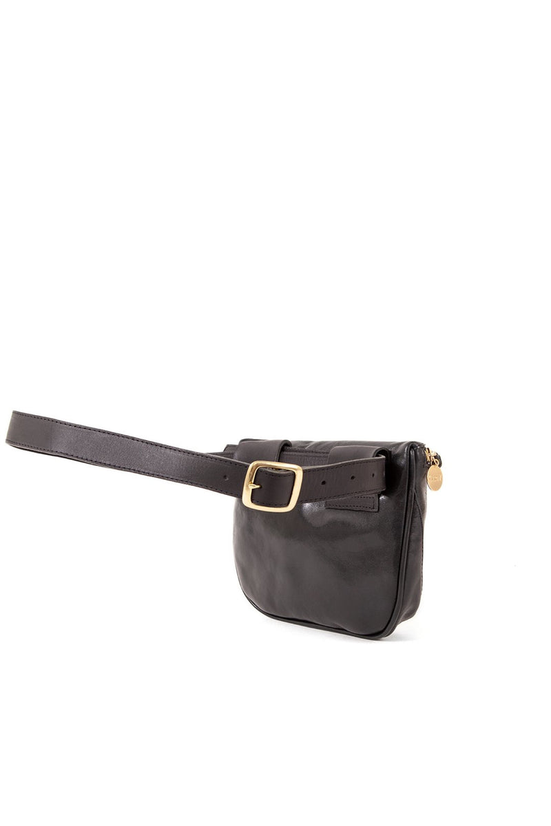 Black Desert Stripe Fanny Pack