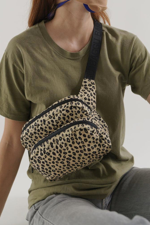 Honey Leopard Fanny Pack