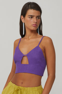 Dark Mauve Alf Top