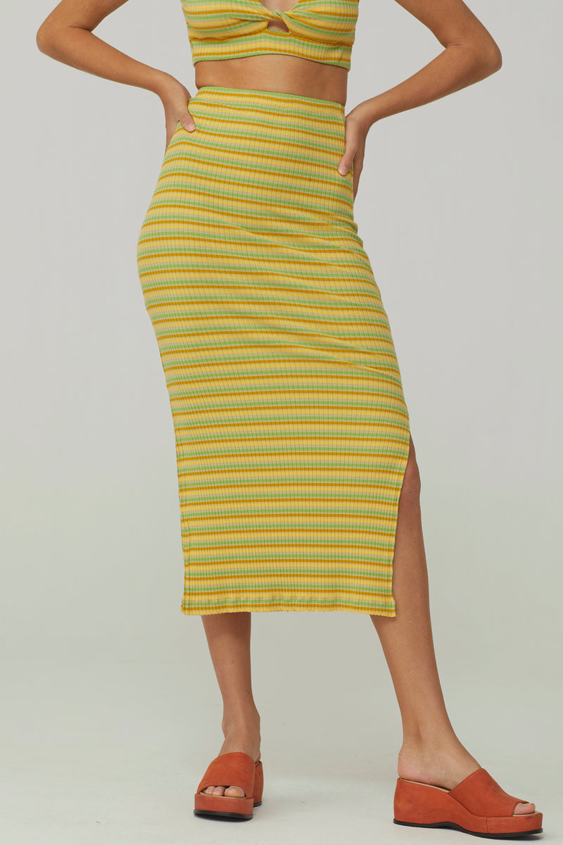 Yellow Landia Skirt