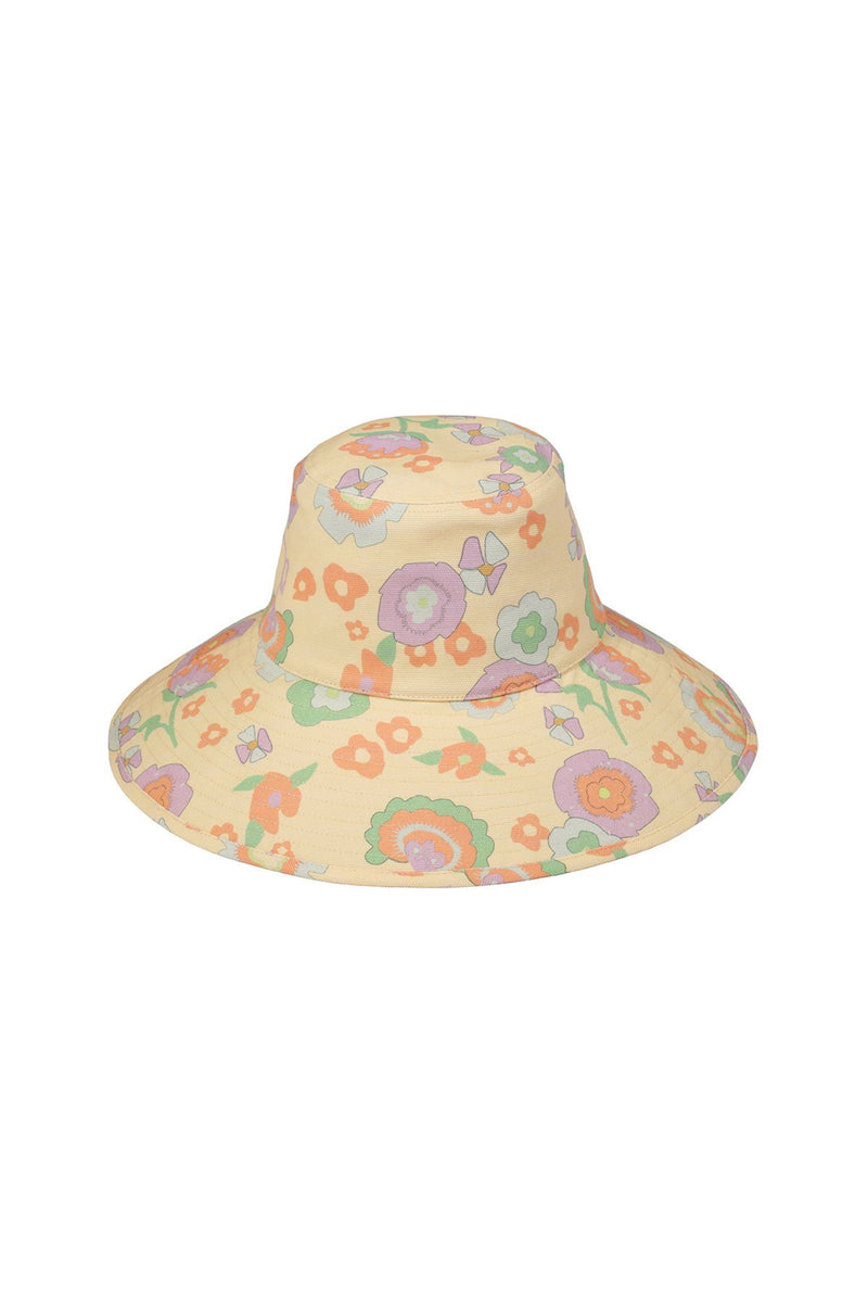 Retro Floral Bucket Hat