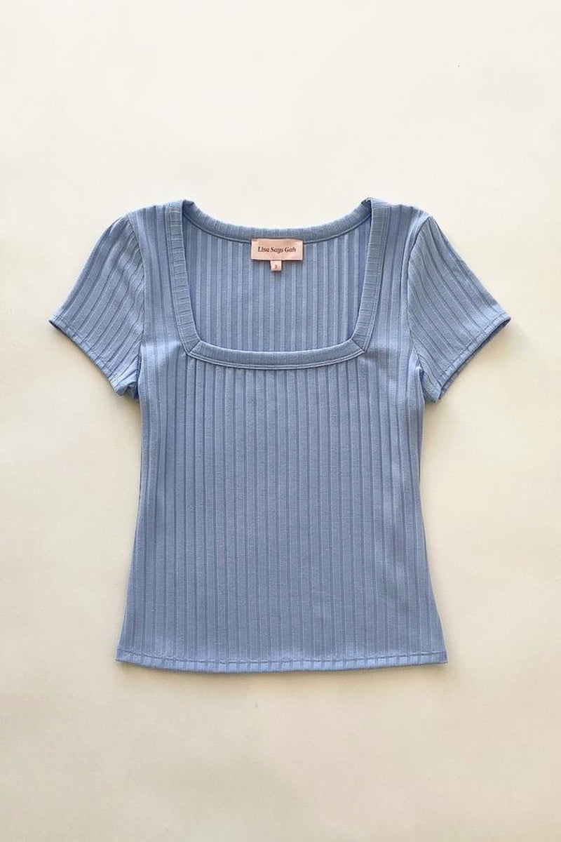 Twilight Zoey Square Neck Tee