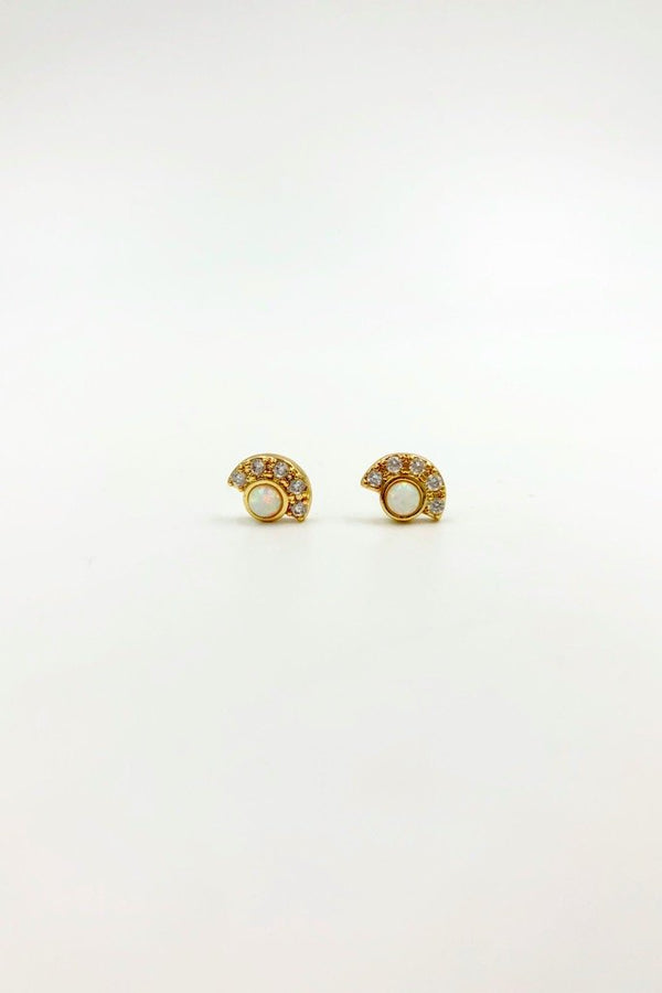 Gold Desi Earrings