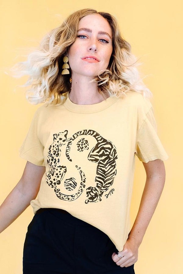 Gold Dust Stripes + Spots Tee