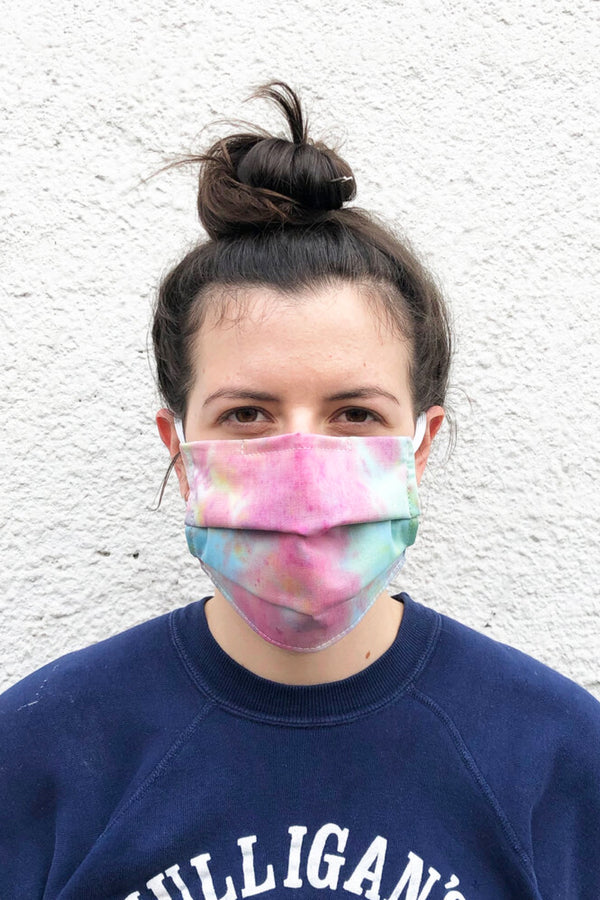 Tie Dye Cotton Face Mask