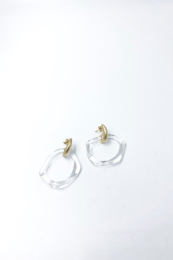 Clear Vero Earrings