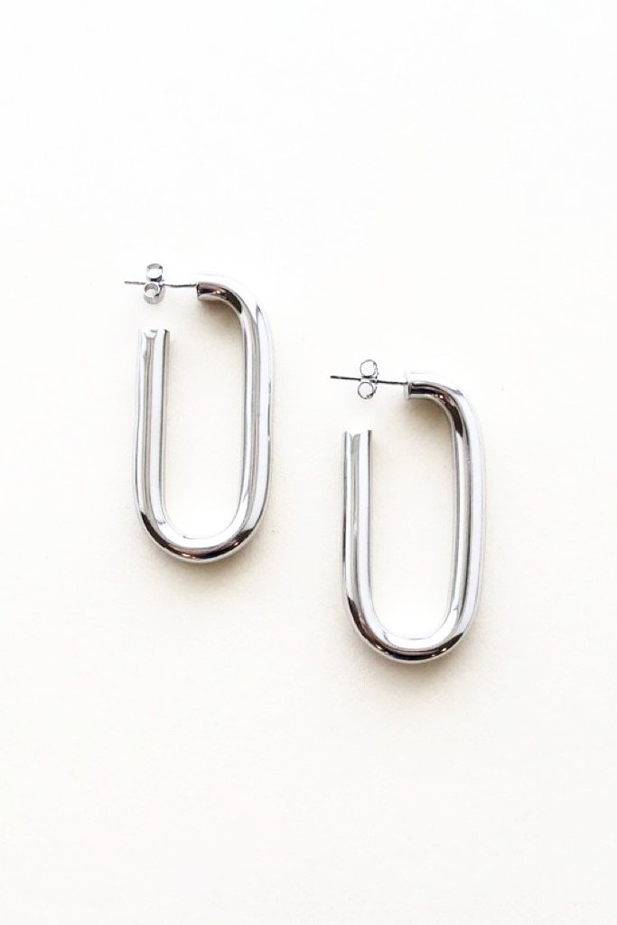 Silver Maya Earrings