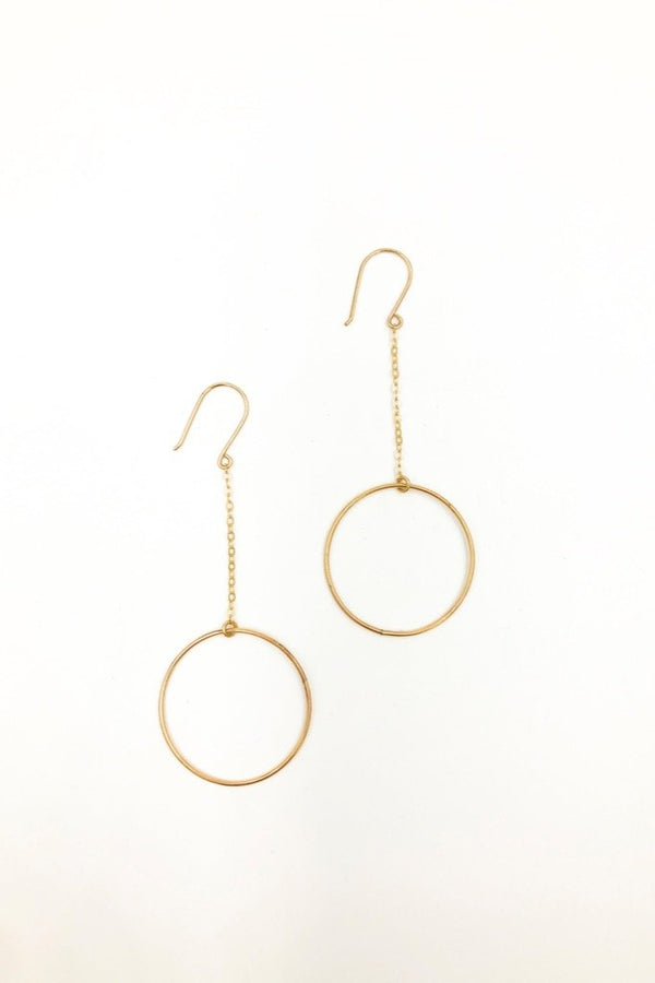 Gold Dancer Earrings