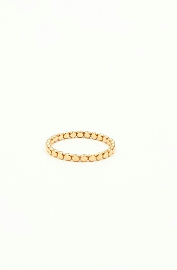 Gold Petite Dot Ring