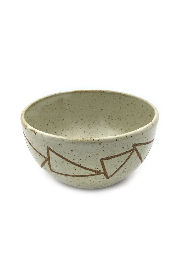 Band Of Triangles Bowl