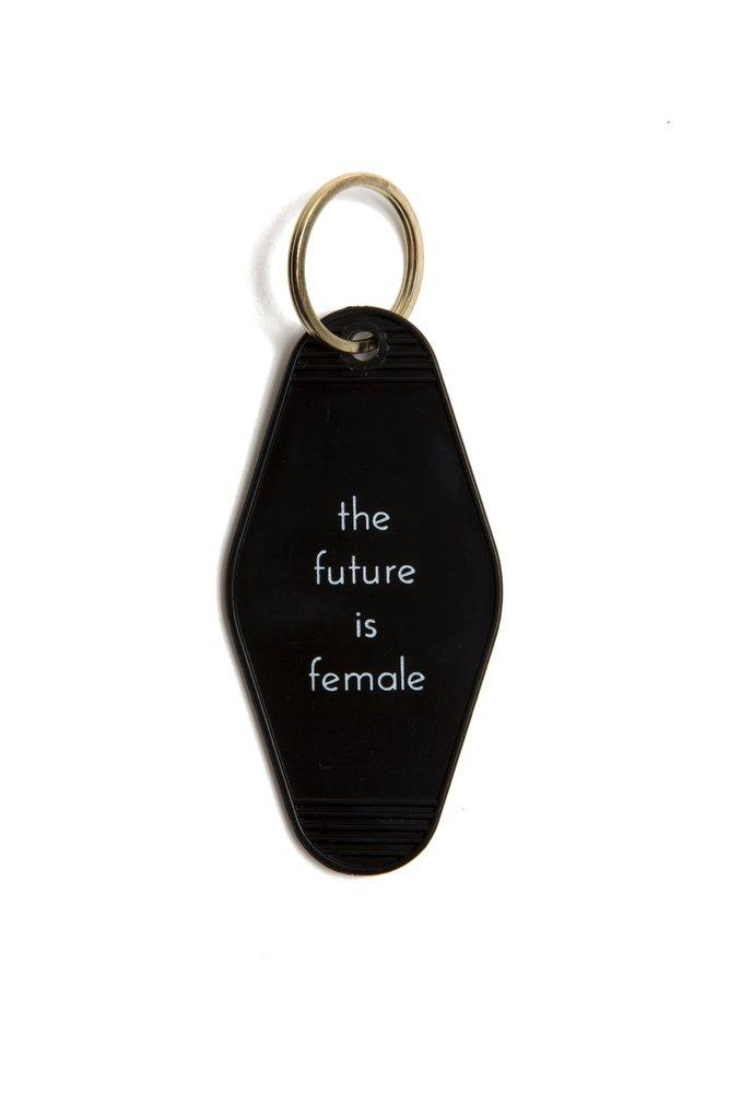 Future Is Female Keychain