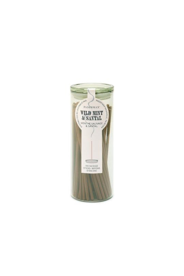 Wild Mint + Santal Incense