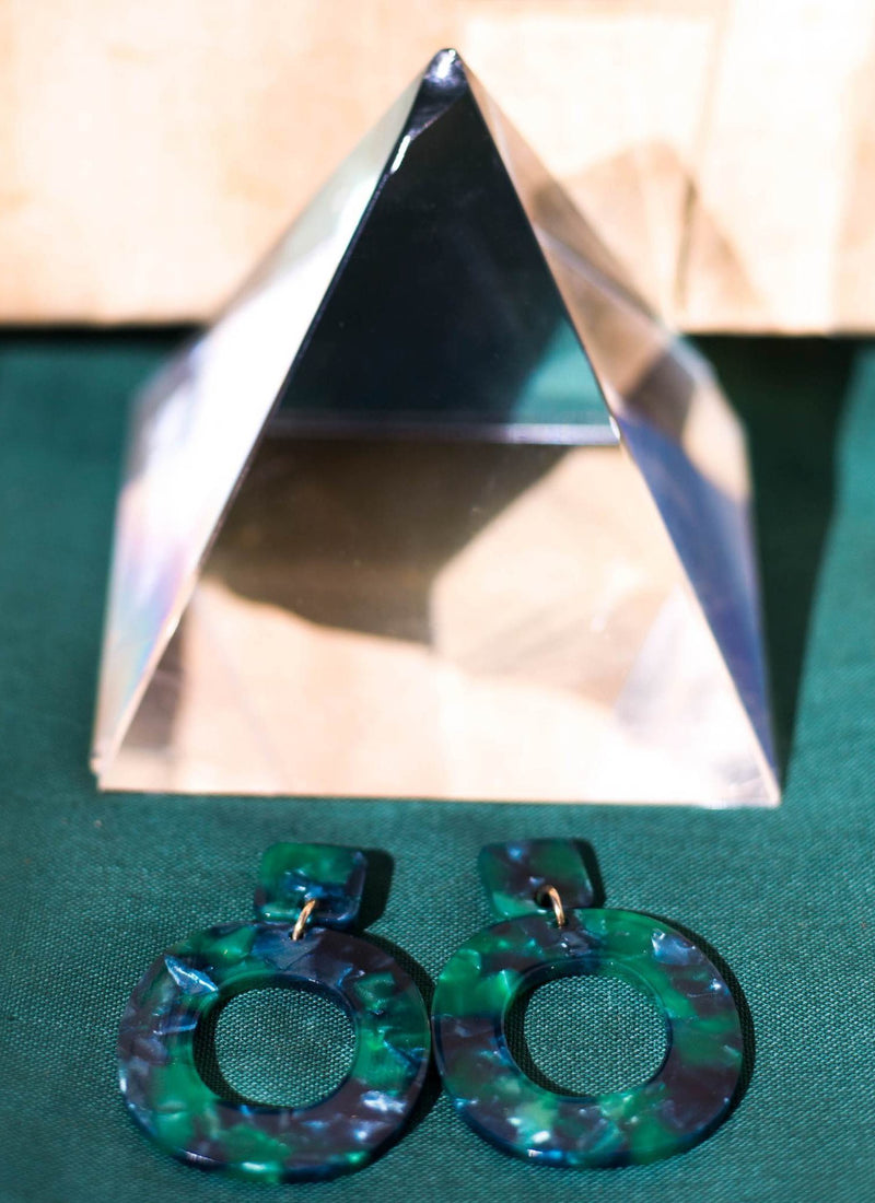 Emerald Torte Ivana Earrings