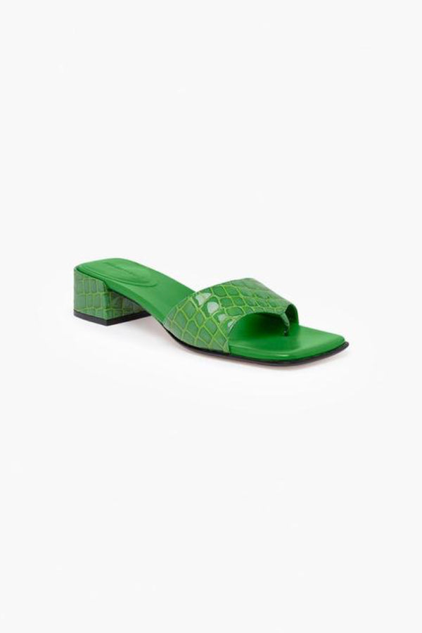 Intense Green Jacoba Sandal