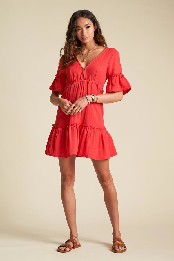 Rio Red Lovers Wish Dress
