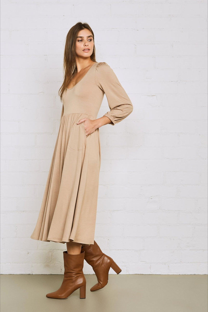 Camel Marion Dress