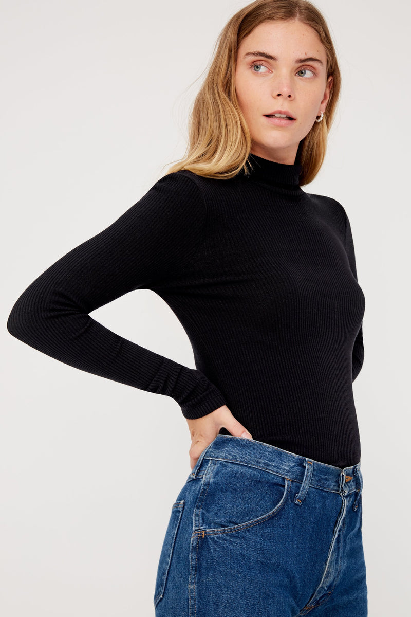 Tar Sweater Rib Turtleneck