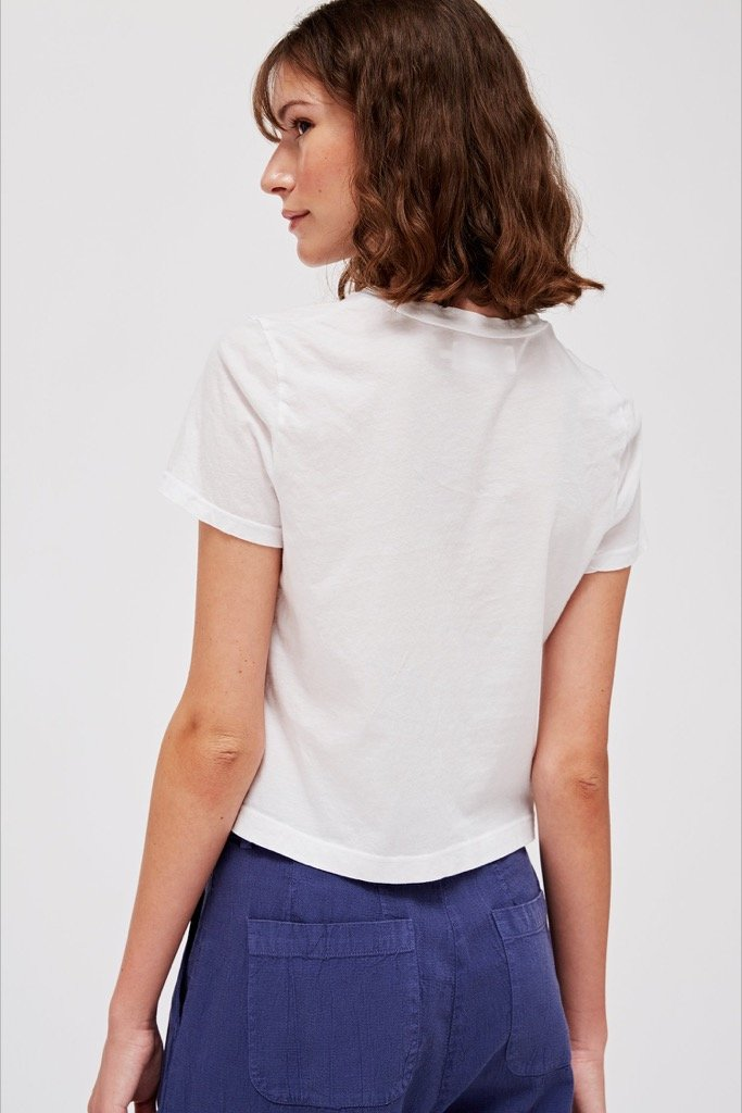 Whitewash Foster Tee