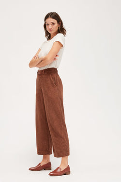 Chocolate Jasper Trousers