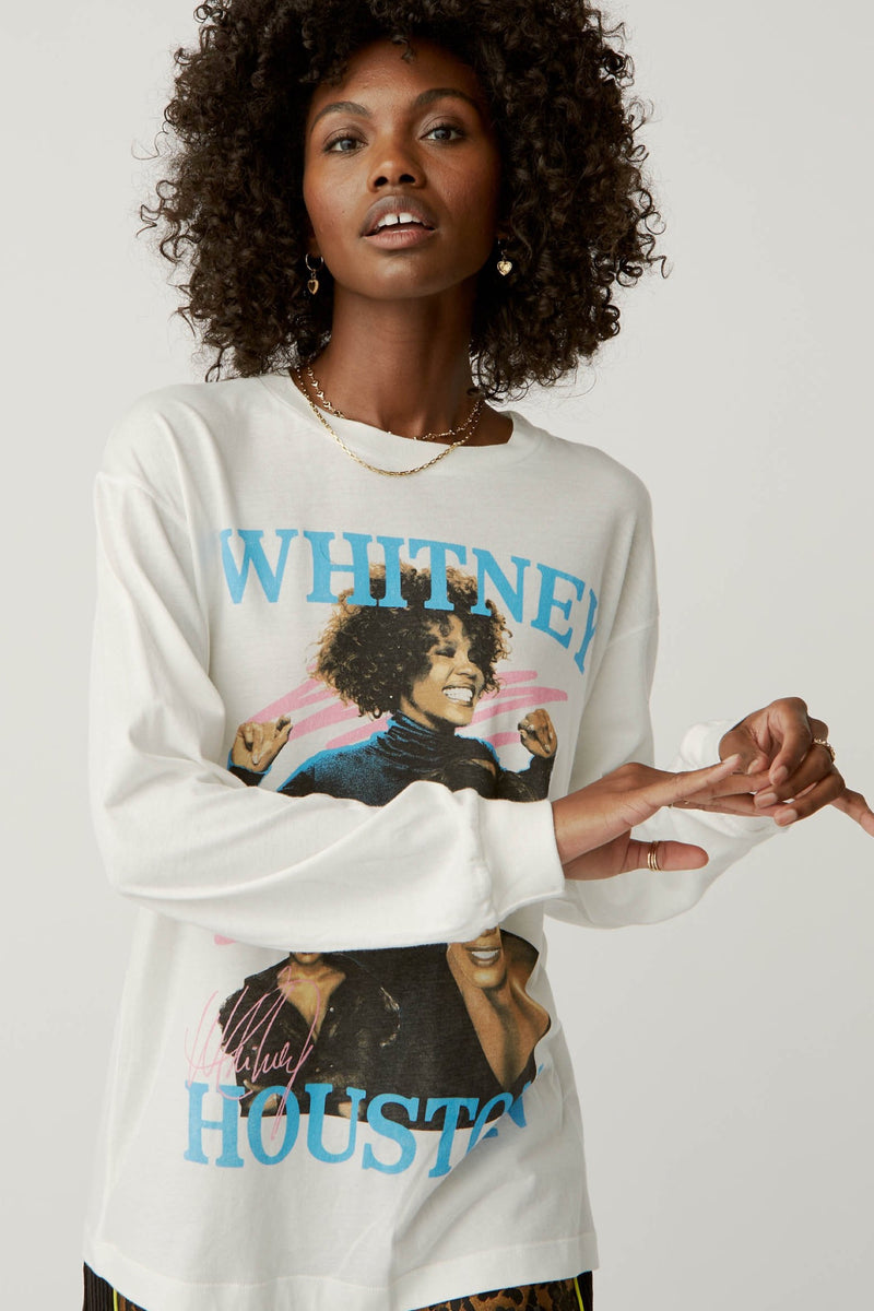 Dance With Somebody Long Sleeve Tee