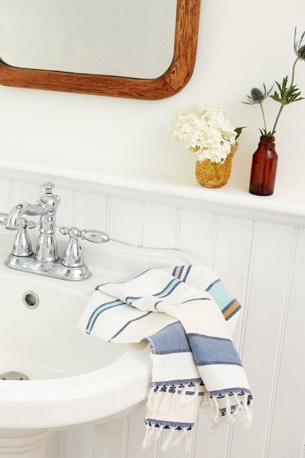 Lago Stripe Tea Towel